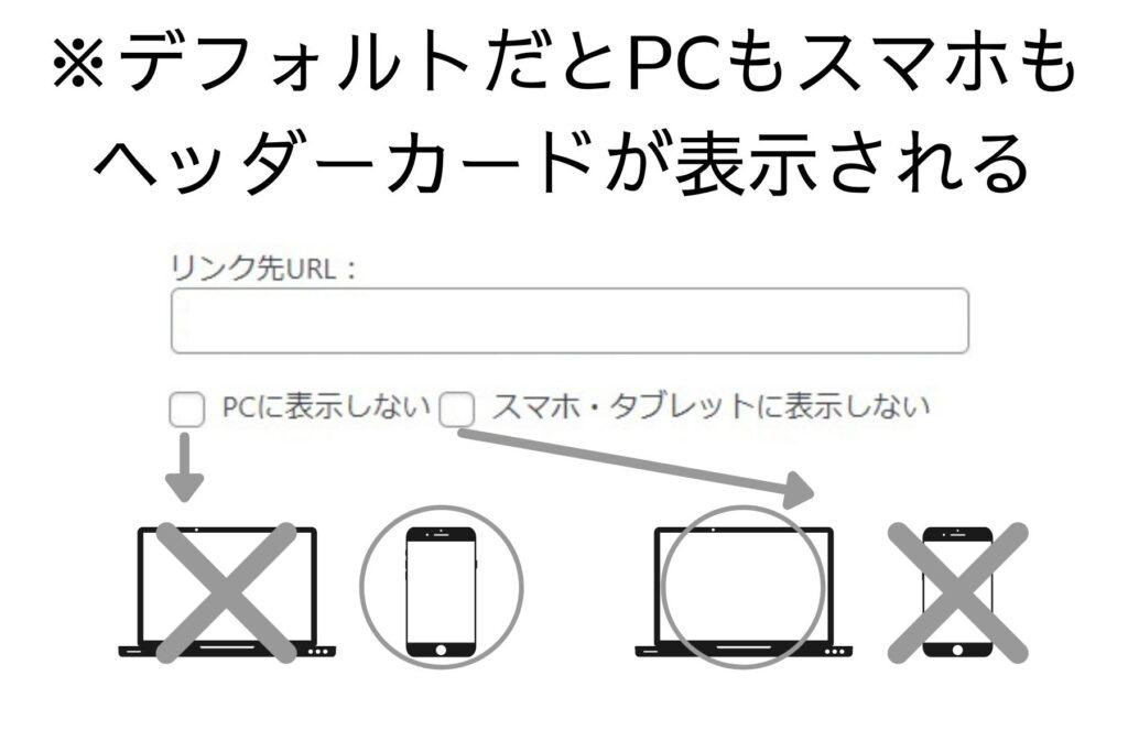AFFINGER6(アフィンガー6)のヘッダーカードをスマホ・タブレット・PCでの表示や非表示の設定方法