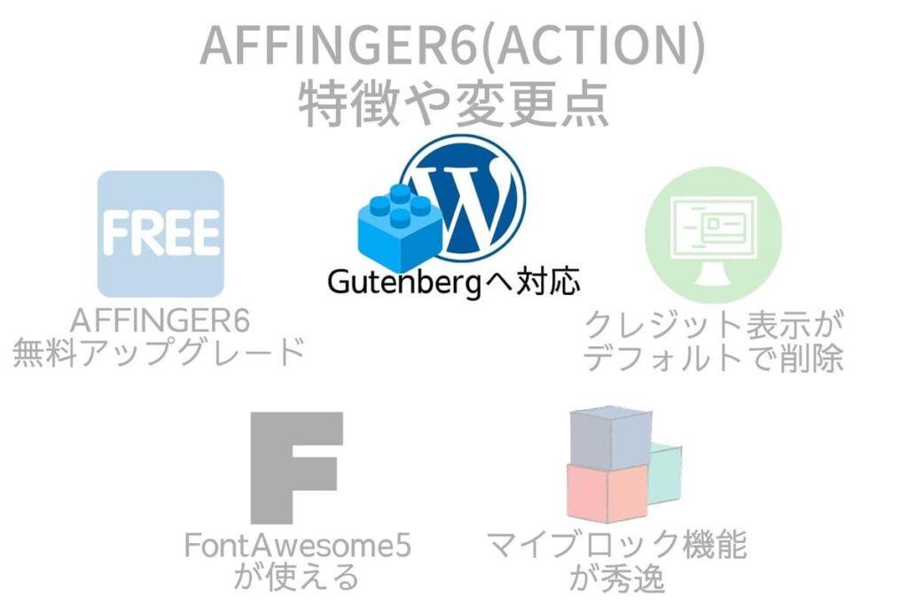 AFFINGER6(アフィンガー6)の特徴や変更点1はブロックエディタGutenberg(グーテンベルクへ)対応